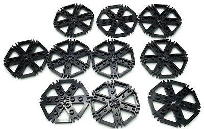 LEGO New Lot of 2 Medium Dark Flesh Technic 6 Rotor Blade Water Wheel Pieces