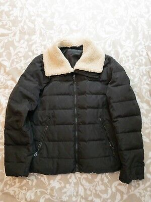 56de594aee UNIQLO Women's Down Quilted Puffer Jacket with Shearling Faux Fur Size XL |  eBay