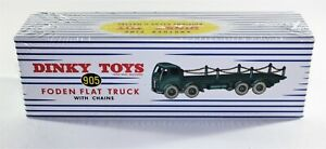 Atlas-Dinky-Supertoys-No-505-905-Foden-Flat-Truck-with-Chains-New-Sealed