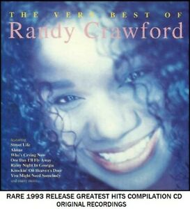 Randy Crawford The Very Best Greatest Hits Collection 70's 80's Pop R&B  Love CD | eBay