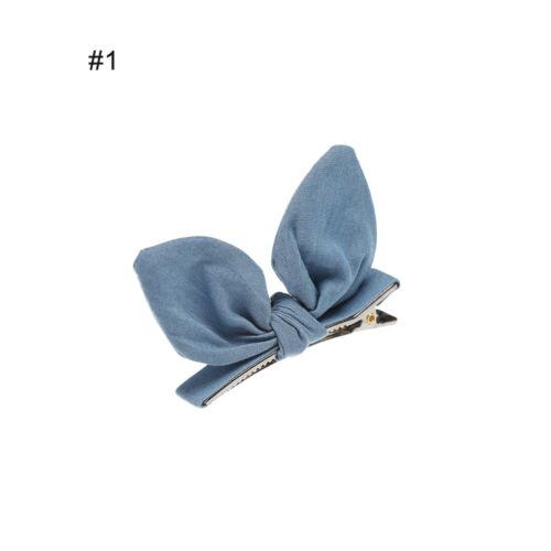 Style Lovely Barrettes Hair Side Clips Hairpins Rabbit ears Hair Pin BB Clip