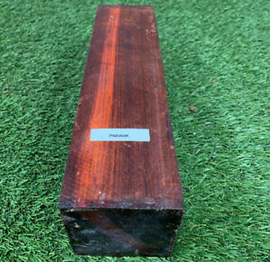 """Beautiful Exotic  PINK IVORY  Pepper Mill Wood Turning Blanks  3/"""" X 3/"""" X 12/"""""""