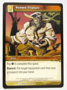 WoW-World-of-Warcraft-Cards-SUNKEN-TREASURE-358-361-played