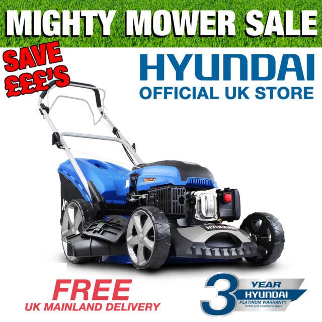 """Hyundai Petrol Lawnmower SELF PROPELLED 173cc 51cm 20"""" Cut Lawn Mower HYM510SP"""