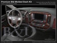 Molded Combo Dash Kit For Chevy Silverado 2014-2017 W/ Bucket Seats