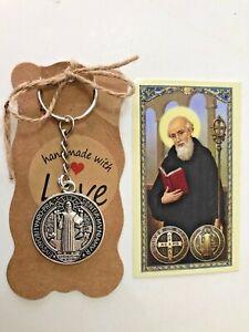St-Benedict-KeyChain-St-Benedict-for-Protection-Patron-Saint-Llavero-exorcismo