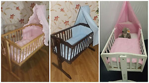 Baby Swinging Crib + Mattress / New born