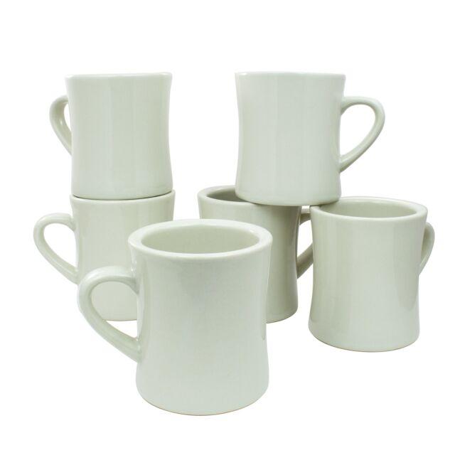 Coletti Col104 Vintage Restaurant Coffee Mugs Mug Set Of 6 10 Oz