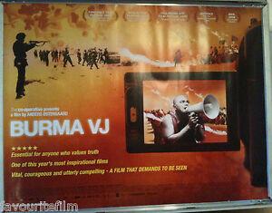 Cinema-Poster-BURMA-VJ-2009-Quad-Anders-stergaard-Ko-Muang-Aung-San-Suu-Kyi