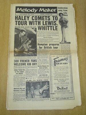 Melody Maker 1956 September 22 Bill Haley Vic Lewis Lita Roza Jimmy Young