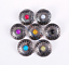 10PC-30MM-FLORAL-TURQUOISE-ANTIQUE-SLIVER-SCREW-BACK-CONCHOS-FOR-BELT-WALLET miniature 8