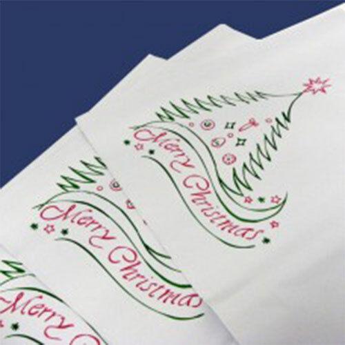 500 Christmas White 14 x17  Mailing Postage Mail Postal Bags