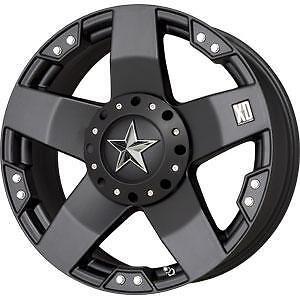 20x8.5 KMC XD775 Rockstar Wheels Rims Chevy Ford GMC Dodge Jeep Toyota 5,6,8 Lug