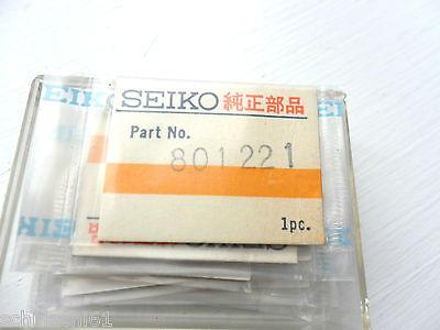 """SEIKO 2206 STEM /""""LONG/"""" X 2 GENUINE SEIKO NOS PN 351224"""