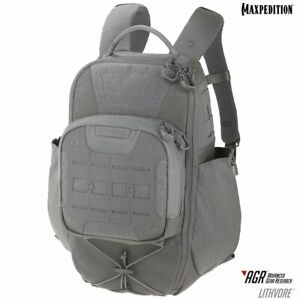 Maxpedition-LTHGRY-LITHVORE-Backpack-Gray