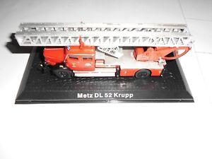 Feuerwehr-Modell-Autos-1-72-Massstab-aus-Metall-METZ-DL-52-KRUPP