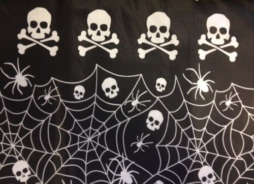 Pirate Skull /& Crossbones ~ Halloween Party Supplies-Vajilla /& Decoraciones