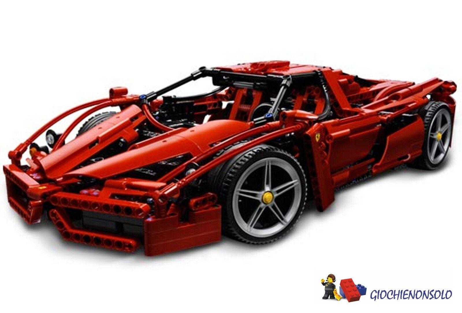 LEGO ESCLUSIVI 8653 1-10 - FERRARI ENZO 1-10 8653 99811f