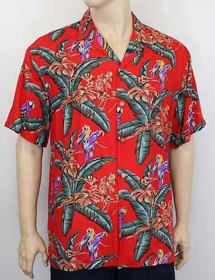 Paradise Found Mens Tropical Jungle Shirt