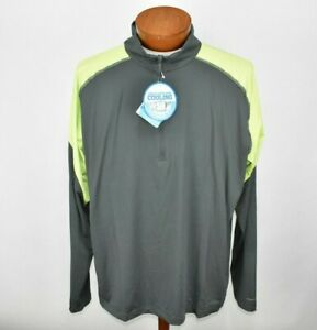 NEW-Columbia-Mens-Freeze-Degree-II-1-2-Zip-Shirt-XXL-Wicking-Omni-Freeze-Zero