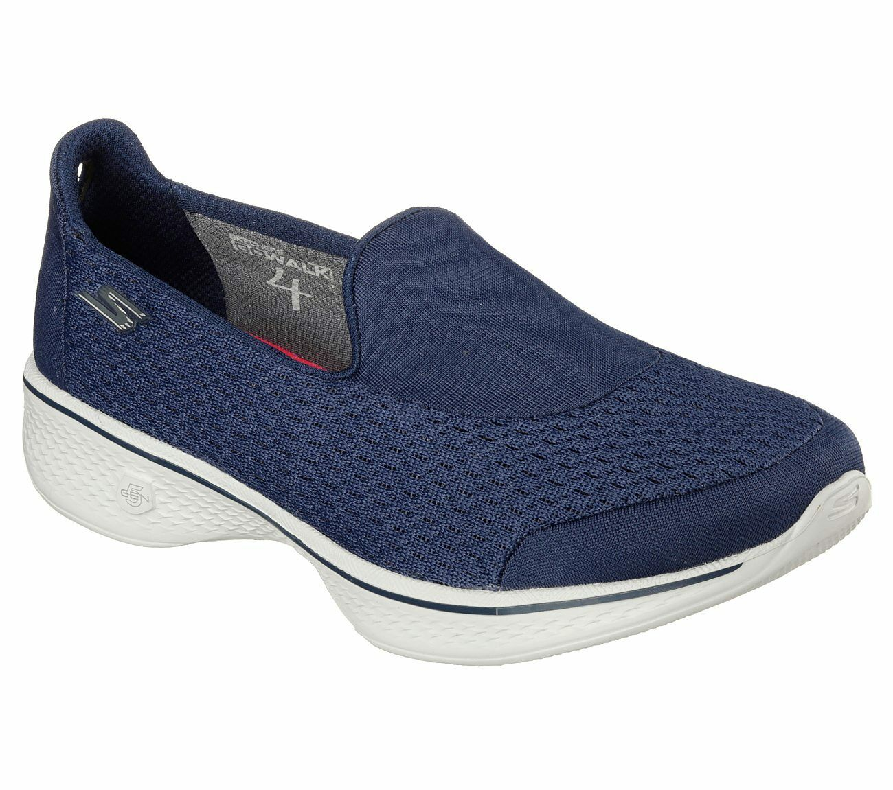 femmes  Skechers 14148 Go Walk 4 PURSUIT Slip On Performance Comfort Casual  Chaussures
