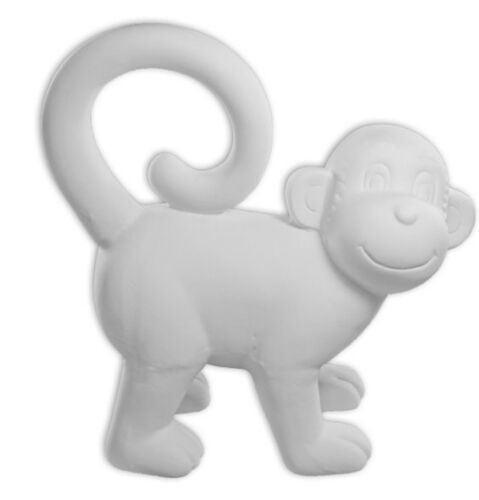 Monkey Crawling With Tail Up Ready to Paint Unpainted Ceramic Bisque