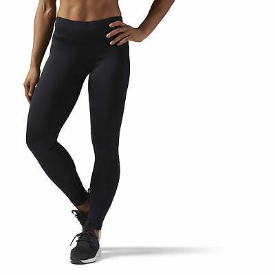 Reebok Sport Workout Ready Leggings women Tights Schwarz