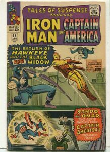 Tales-Of-Suspense-Iron-Man-Captain-America-64-FN-Marvel-Comics-SA