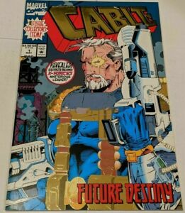 CABLE-1-Collector-039-s-EDITION-Gold-foil-MARVEL-COMICS-1993-NEW-MUTANTS-X-FORCE
