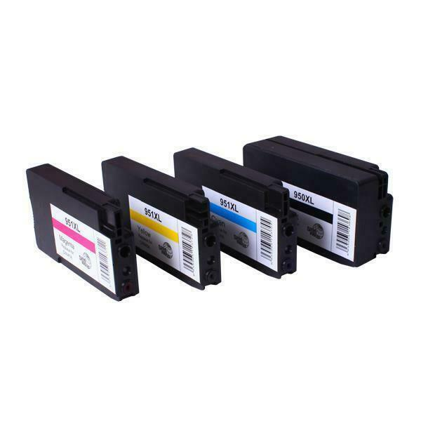 950XL 951XL Premium Compatible Inkjet Cartridge Set 4 Cartridges for HP