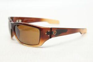 Spy-Optic-Mens-Sunglasses-Brown-Tan-Ombre-Rectangular-Sport-Lens