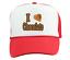 Trucker Hat Cap Foam Mesh I Love Chocolate Funny