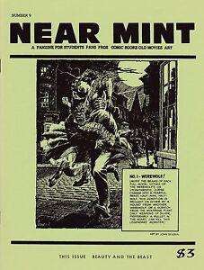 """NEAR MINT"" #9 ""BEAUTY & THE BEAST"" ISSUE: WEREWOLF JOHN SEVERIN KONGA C.C. BECK"