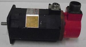 DELCO FANUC, AC SERVO MOTOR, D001S1, 3 PH, 8 POLES, 2000 RPM, 2.9A, 90V