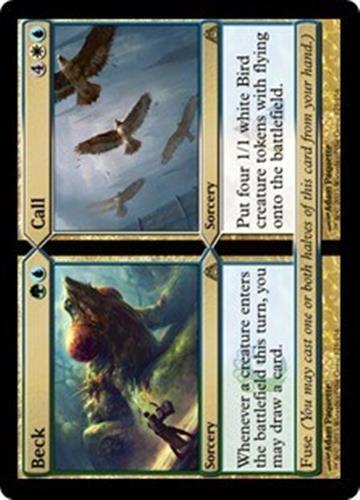 BECK // CALL Dragon's Maze MTG Gold Sorcery RARE