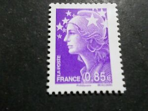 Initiative France 2009 Timbre 4416, Couleurs Marianne Beaujard Europe, Neuf**, Mnh Stamp Dernier Style