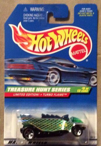 1998 Hot Wheels Treasure Hunt Series Turbo Flame Limited Edition Rare # 5 of 12