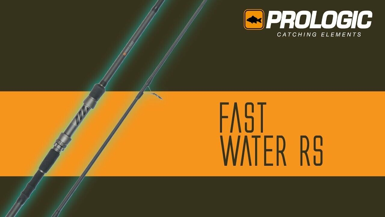 A0218 PROLOGIC FAST WATER RS 9.6FT 3,5 LB CANNA CARPFISHING ROD CARBONIO 40T