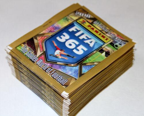 Panini FIFA 365 Saison *2018* INT ED EUROPA 50 TÜTEN PACKETS 250 Sticker
