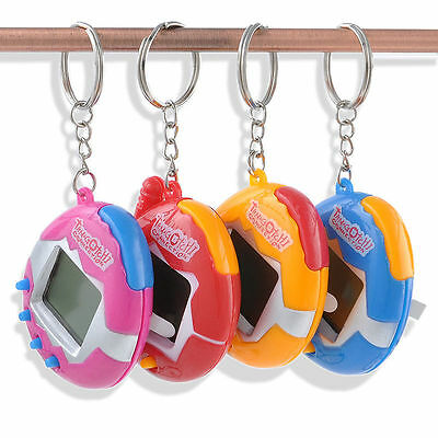 90S in One Virtual Cyber Pit Toy Funny Tamagotchi Game Random Color Sale