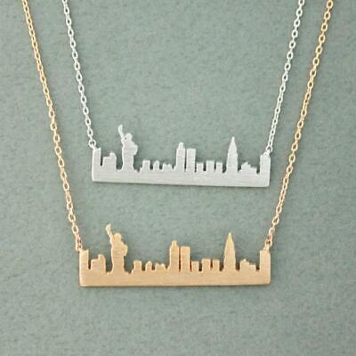 Handmade Sydney Skyline Pendant Silver Skyline Necklace Australia Pendant