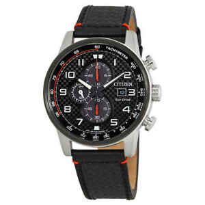 f10190480f4 Image is loading Citizen-Primo-Chronograph-Black-Dial-Men-039-s-