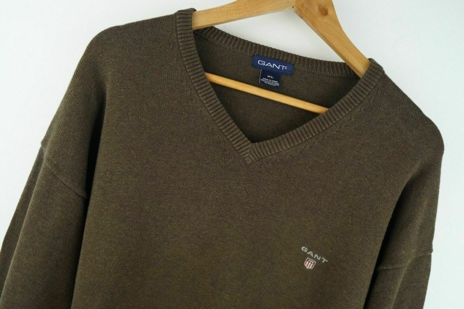 B146 GANT JUMPER SWEATER 100% COTTON ORGINAL PREMIUM size XL