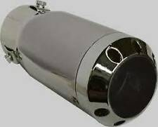 Chrome Tip Stainless Steel Exhaust fits SUZUKI VITARA 2015on Tailpipe Trim (CT3)