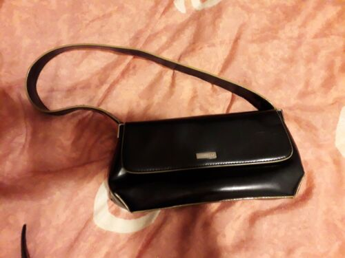 Black Clutch Handle Short Handbag Strong HvZdqH