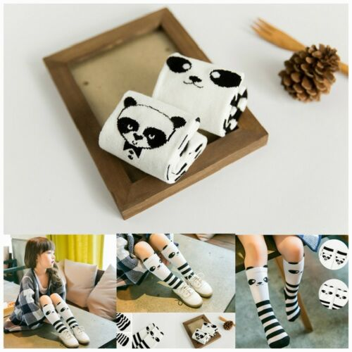 For Age 1-4 Years Tights Panda Pattern Baby Kids Toddlers Knee High Socks