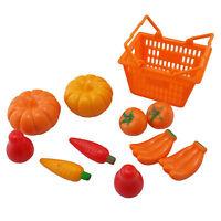Set/lot Supermarket Basket Fruits 1:6 Scale For Barbie Monster High Doll Dolls