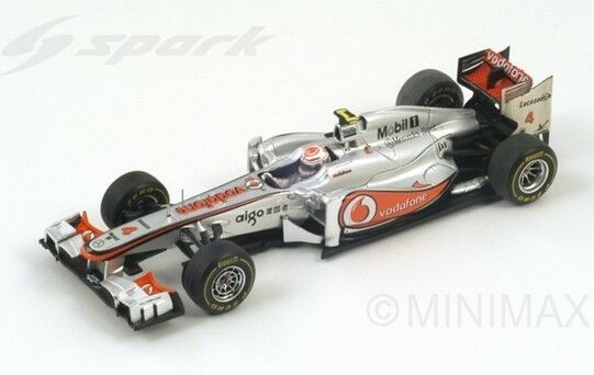 SPARK McLaren Mercedes MP4-26 No.4 Japan GP 2011 Winner Jenson Button SJ007 1 43