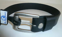 Men's Mens Bullhead Black Skate Belt Size 32 3095