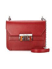 """OSCAR DE LA RENTA Black Leather """"Madison Large"""" Shoulder Handbag $2,490"""